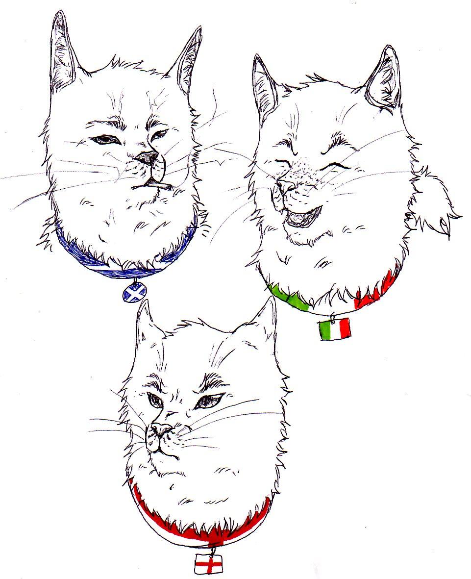 UK Kitties by nightwindwolf95