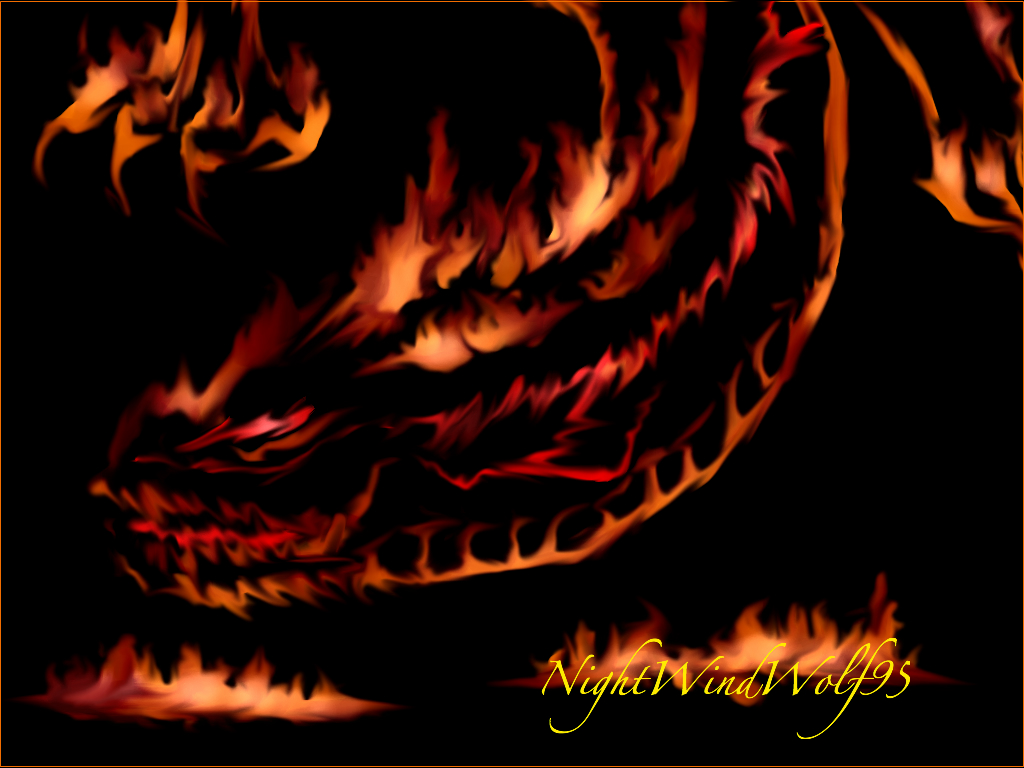 Fire Dragon by nightwindwolf95