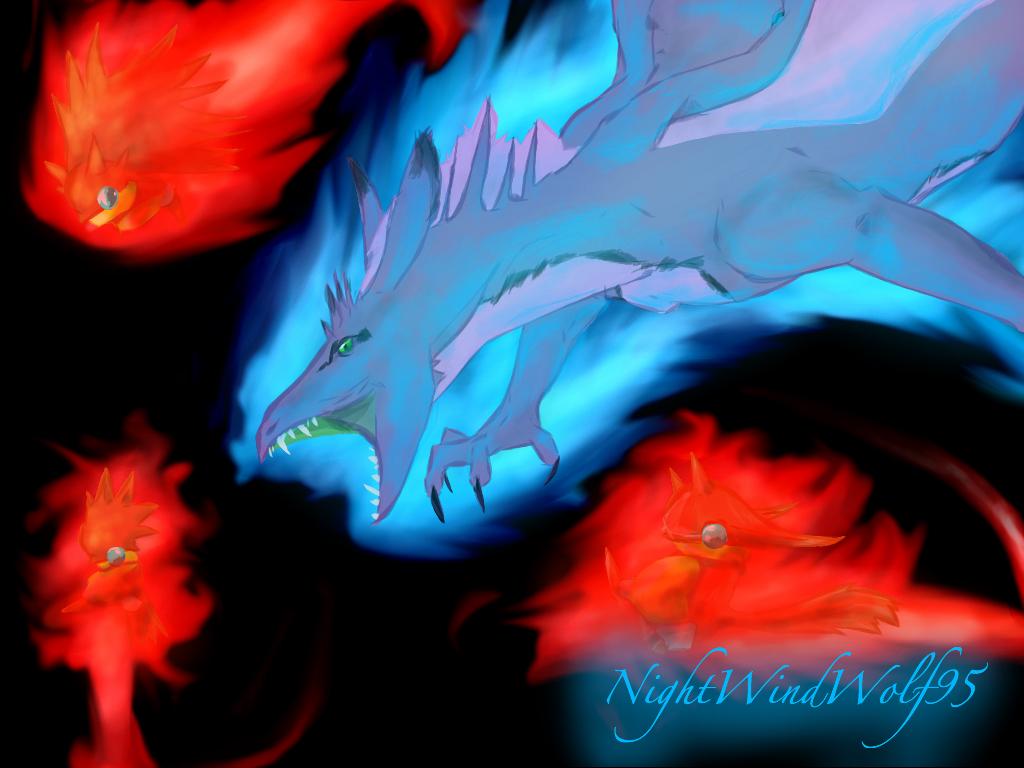 Summon Tiamat by nightwindwolf95