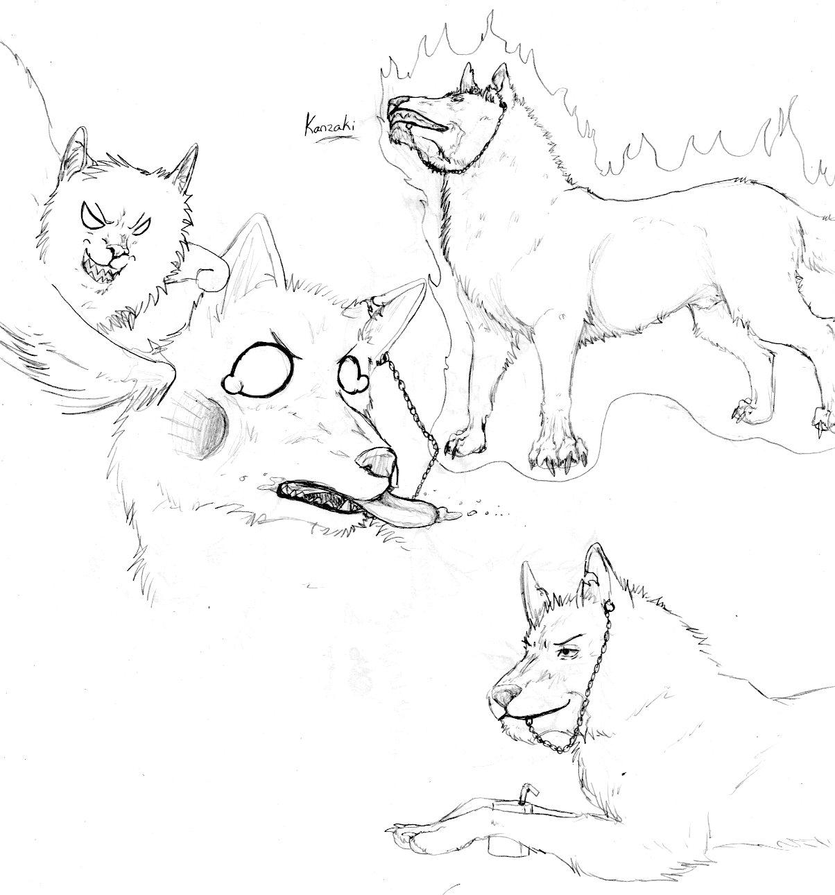 Kanzaki Dog by nightwindwolf95