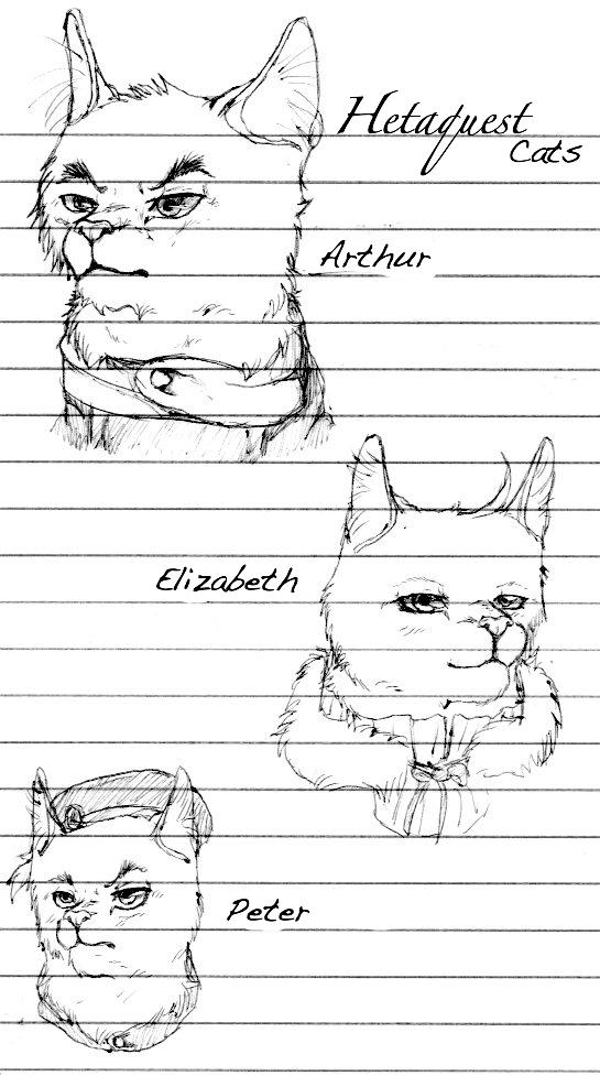 HetaQuest Cats: the Kirklands by nightwindwolf95