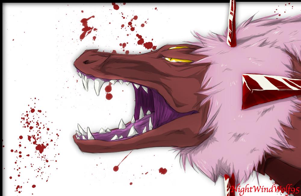 Shadow Beast by nightwindwolf95