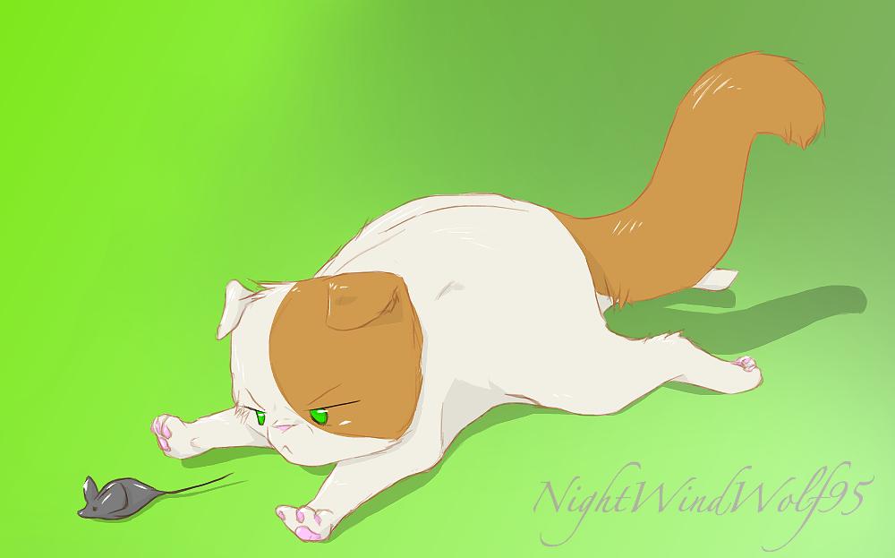 Cute Cat England by nightwindwolf95