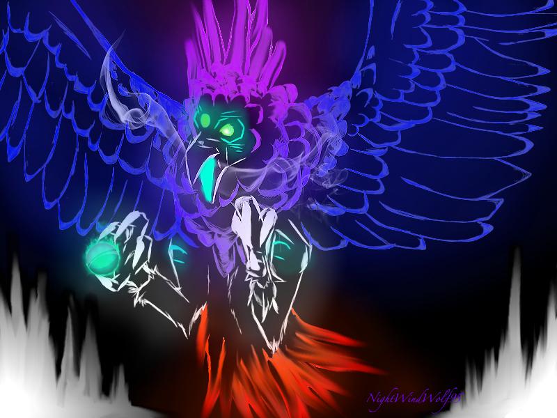 Harpyie Geist by nightwindwolf95