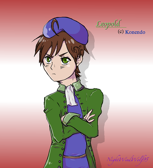 Konendo request: Leopold by nightwindwolf95