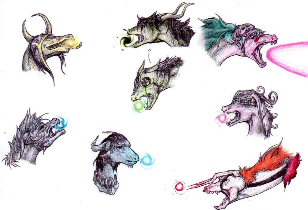 Bleach Dragons: Ceros by nightwindwolf95
