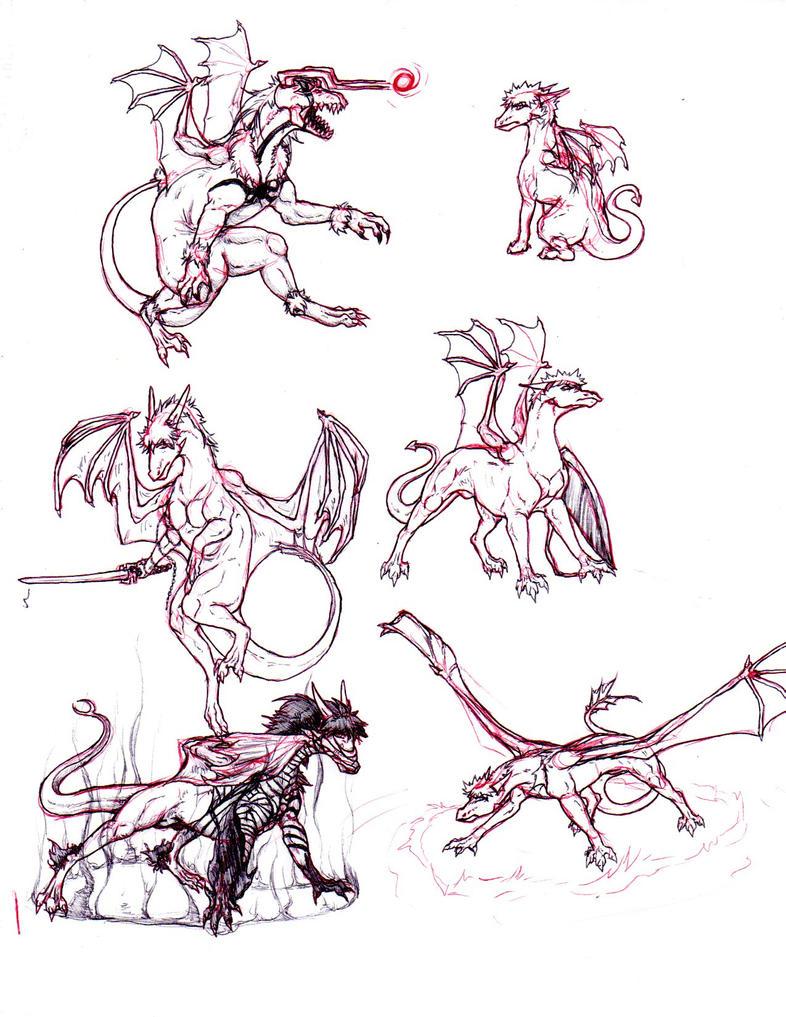 Bleach Dragons: Different Ichigos by nightwindwolf95