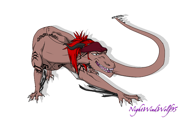 KingdomHearts2345  Request: Dragon Renji by nightwindwolf95