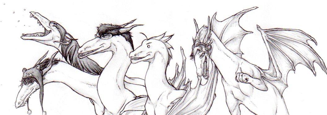 Youtuber Dragons by nightwindwolf95