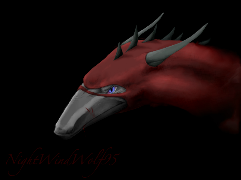 Random Spy Dragon by nightwindwolf95