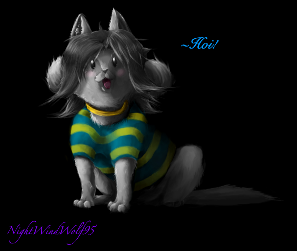 Undertale: Temmie by nightwindwolf95