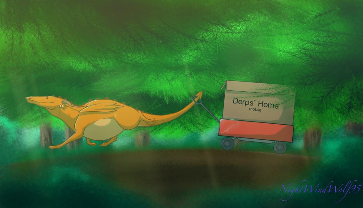 Derp Friday: Adventure :D by nightwindwolf95