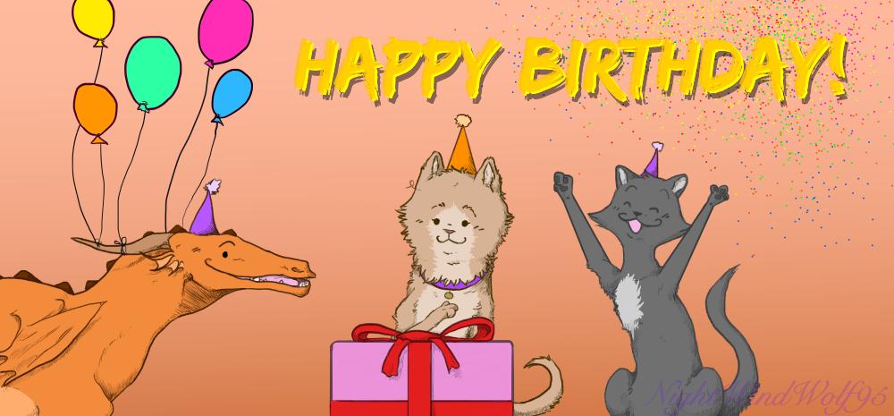 Derp Friday: My Birthday by nightwindwolf95