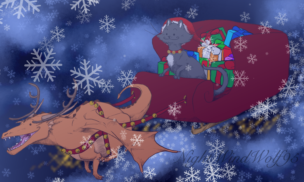 Derp Friday: Christmas by nightwindwolf95