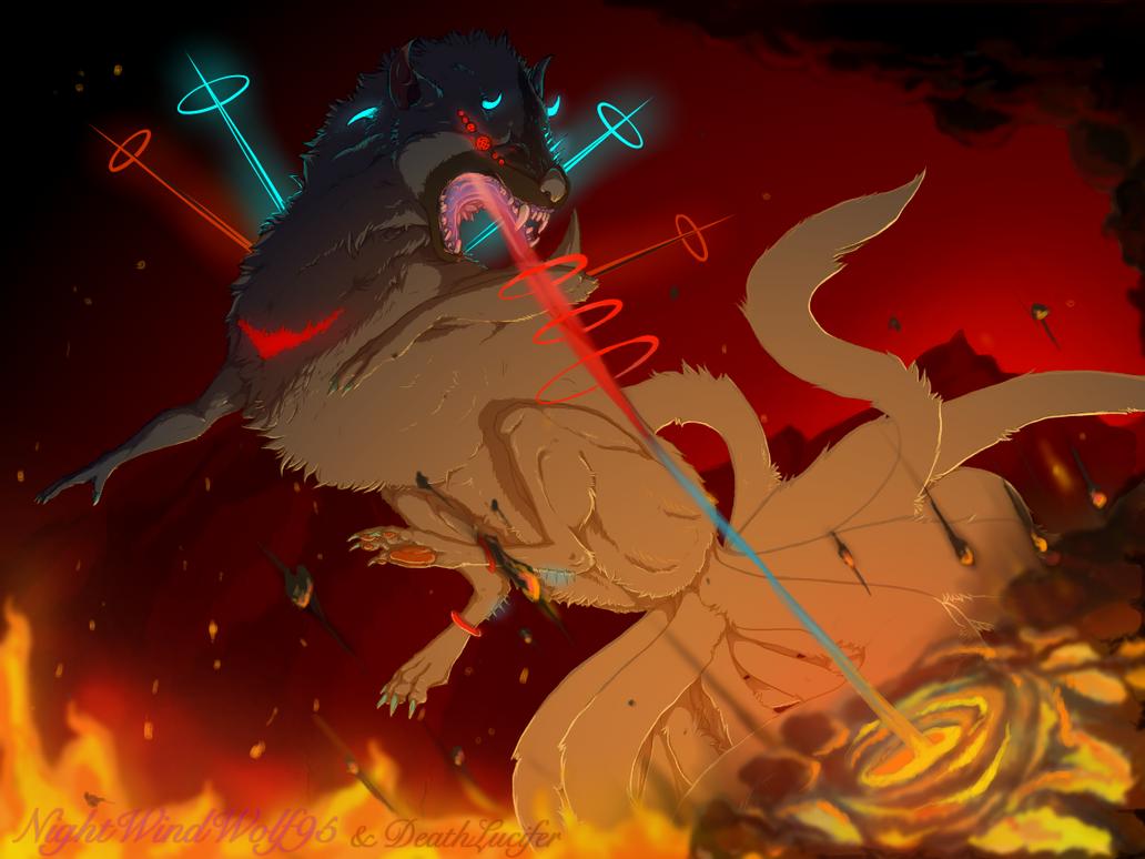 20 Tailed Beast by nightwindwolf95