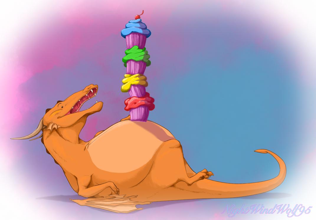Derp Friday: Cupcake Stack by nightwindwolf95