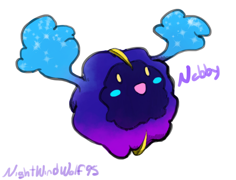 Nebby Doodle by nightwindwolf95
