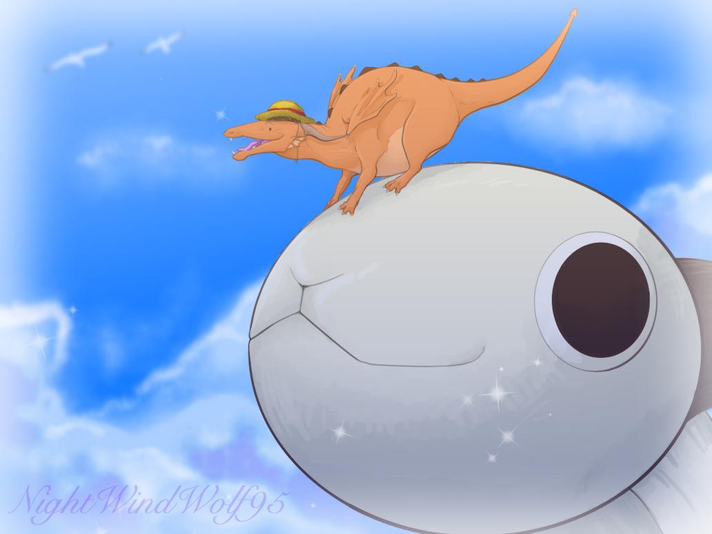 (late)Derp Friday: One Piece by nightwindwolf95