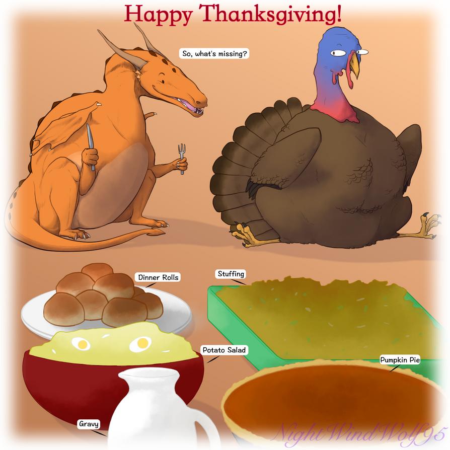 Derp Friday: Thanksgiving by nightwindwolf95