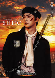 Attack on Titan: Suho Poster by meibaek