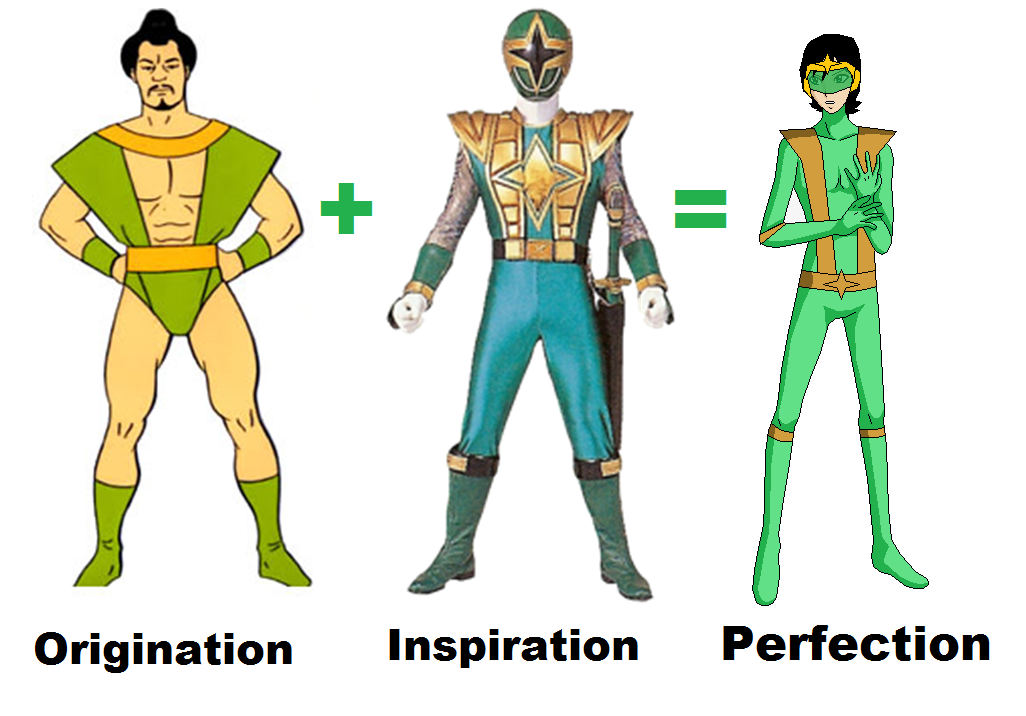 evolution of samurai super friends by camilosama on deviantart