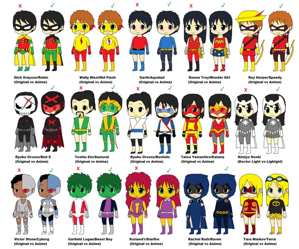DC Comics Costumes vs DC Anime Costumes by CamiloSama ...  sc 1 st  DeviantArt & DC Comics Costumes vs DC Anime Costumes by CamiloSama on DeviantArt