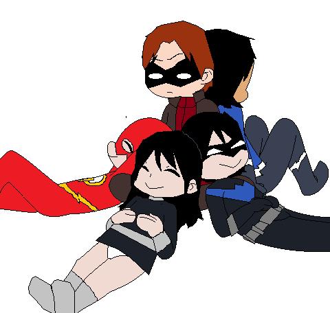 Original Teen Titans by CamiloSama