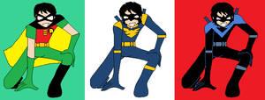 Dick Grayson Evolution (DC Anime)