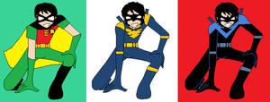 Dick Grayson Evolution (DC Anime)