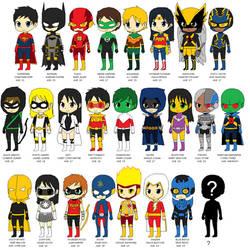 Justice League X (Future Anime) by CamiloSama