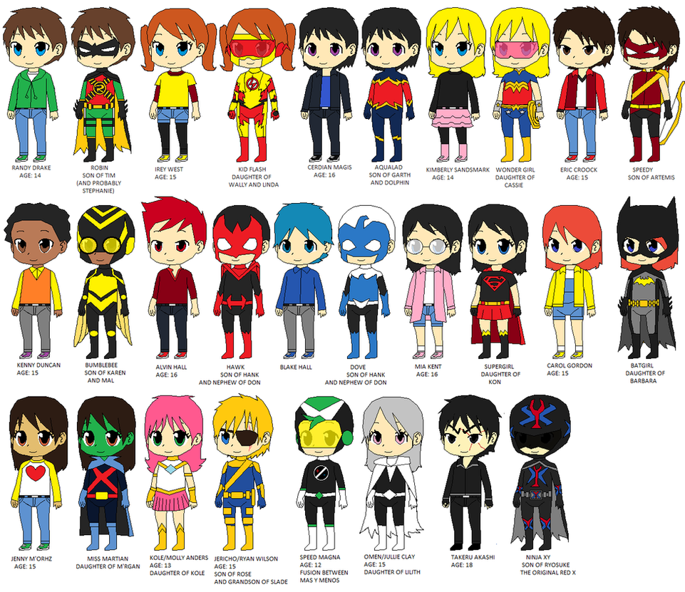 Teen Titans X Updated Version by CamiloSama