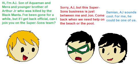 The third member of Super-Sons ? by CamiloSama
