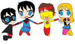 Young Justice Team by CamiloSama
