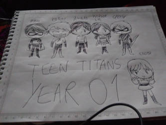 Teen Titans Year 01 complete by CamiloSama