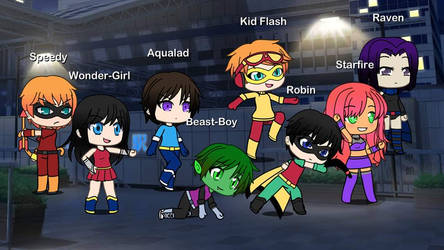 The New Teen Titans (Gatcha Life)