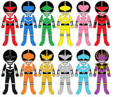 Expanded Time Force Rangers