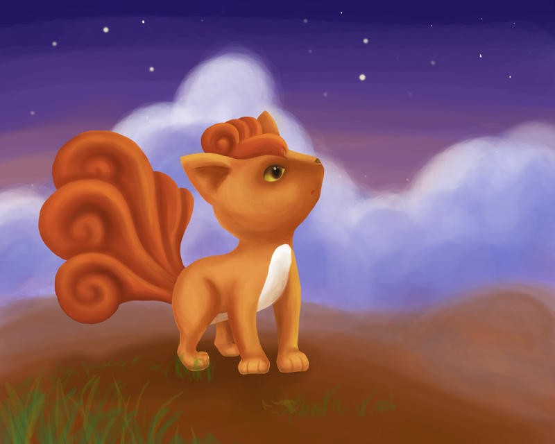 Vulpix by dolcesunset