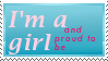 Girl And Proud to be by hotarox-x