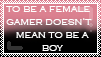 To Be A Female Gamer by hotarox-x