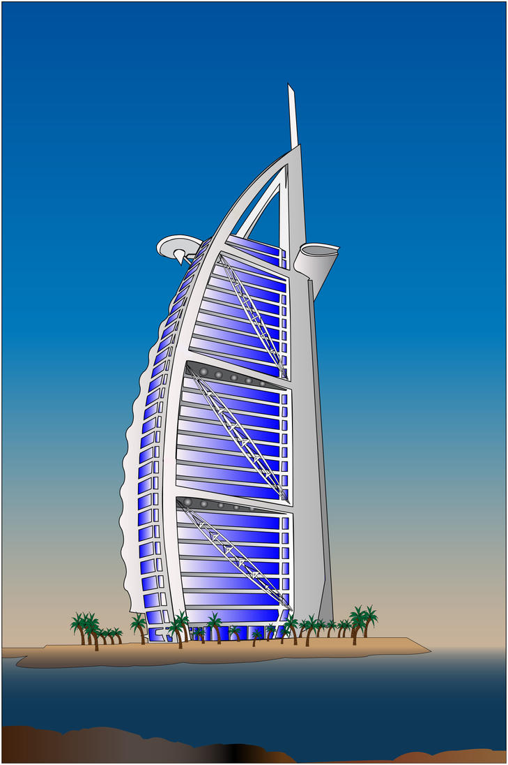 Burj Al Arab By Lightsofthesky On Deviantart
