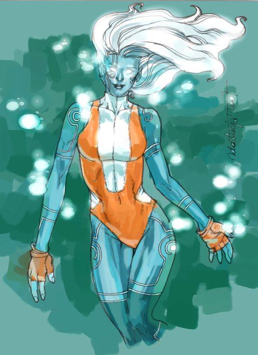 Doria McKenzie-Boltagon (2044) Namorita_kolor_by_EdaWoocya