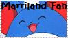 Marriland Fan Stamp by Conspicio