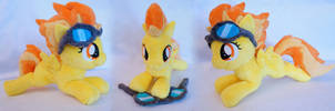 Filly Spitfire with goggles by FatalPlush