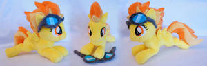 Filly Spitfire with goggles
