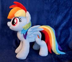 Rainbow Dash plush by FatalPlush