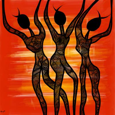 dancing shadows by Missrlola