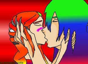 flower, frist real kiss.