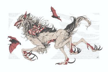 Flying Foxes by Versipeli