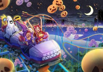 Halloween Rollercoaster by gigiEDT