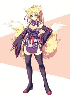 Fox Girl 1235AFSD